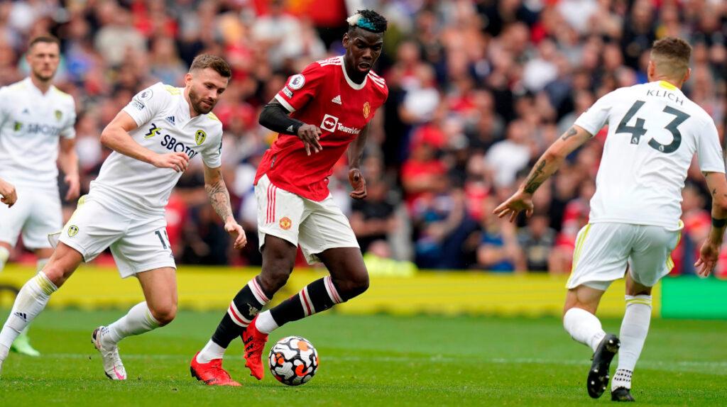 Manchester United golea al Leeds al ritmo de Pogba y Fernandes