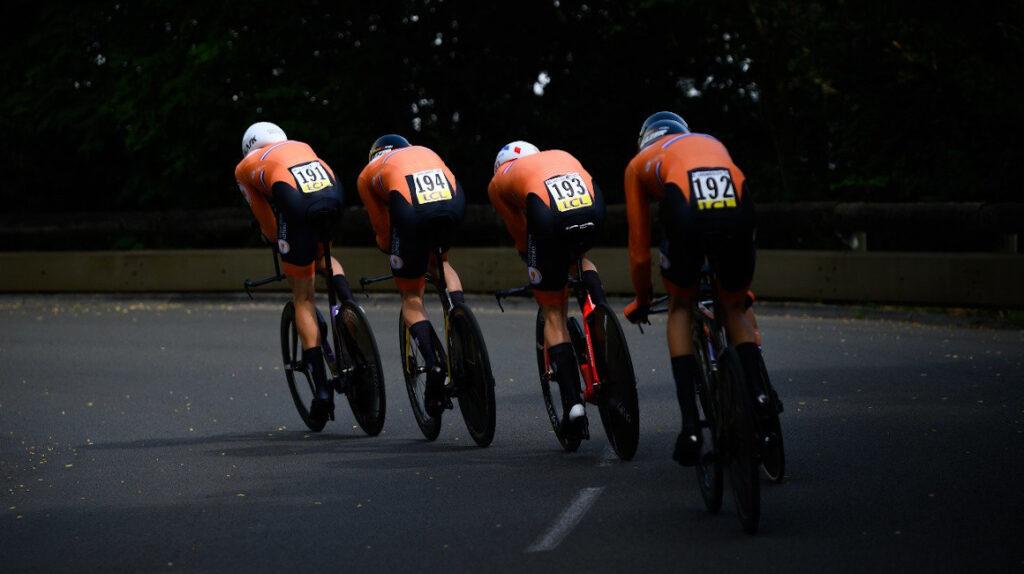 Países Bajos gana la contrarreloj por equipos del Tour de l'Avenir