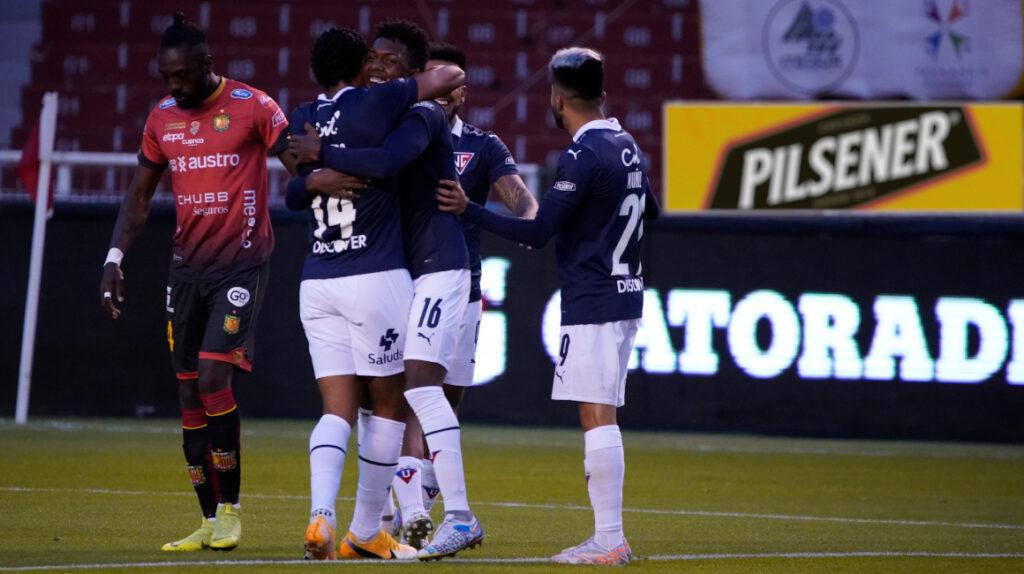 Liga rescata un empate en Quito frente al Deportivo Cuenca