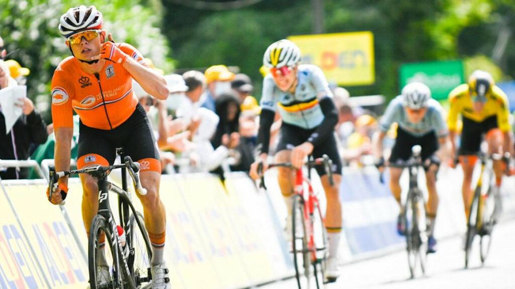 Marijn Van den Berg se impone en la Etapa 3 del Tour de l'Avenir