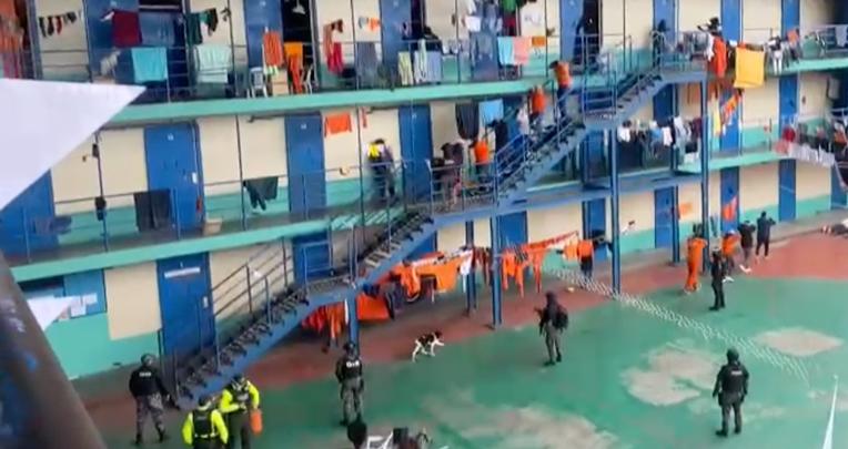 La Penitenciaría del Litoral es considerado, junto al de Cotopaxi, el centro más peligroso del país.