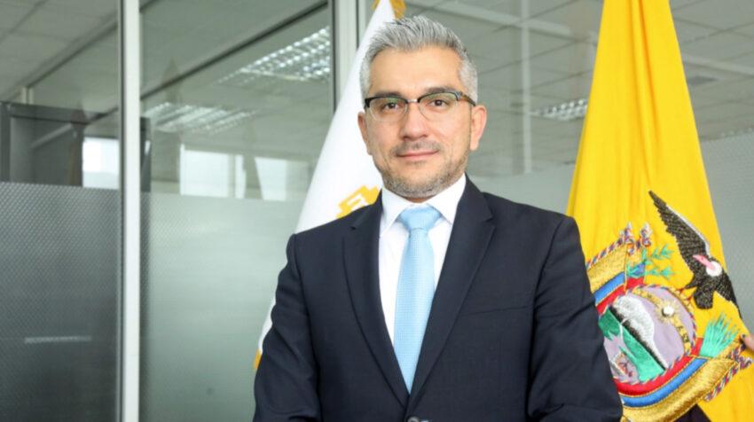 Miguel Moreira, viceministro de Atención Integral en Salud, en su oficina, en mayo de 2021.