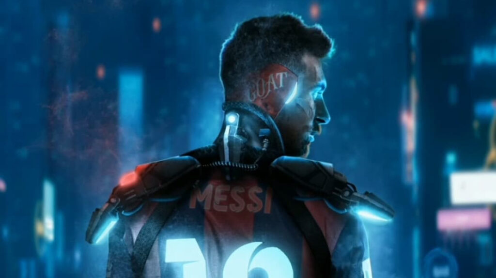 Lionel Messi tendrá su propia colección de arte digital