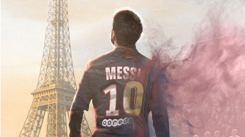 Una obra digital de Lionel Messi, creada por Bosslogic
