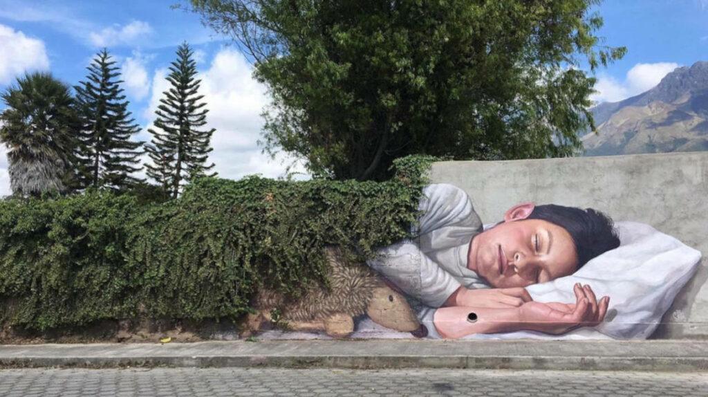 El arte salta de la calle a las redes sociales: Ecuador a colores
