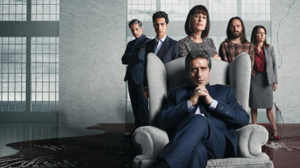 'El Reino' de la corrupción llega a Netflix: Diego Peretti, Presidente