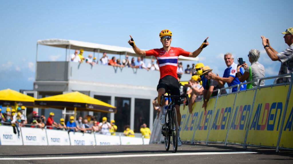 Tobias Johannessen gana la Etapa 7 del Tour de l'Avenir y López llega séptimo