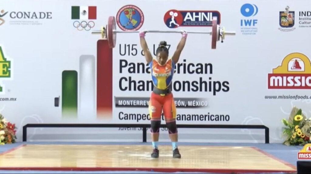 Jessica Palacios gana cinco medallas en el Panamericano de halterofilia