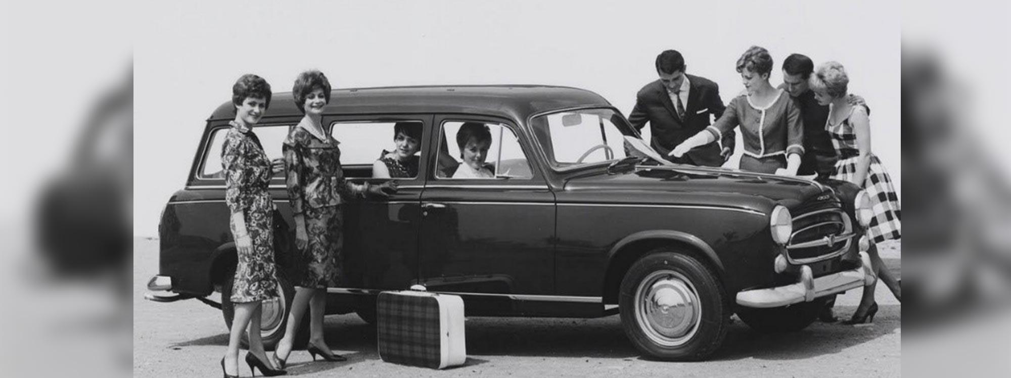Los coches familiares de Peugeot