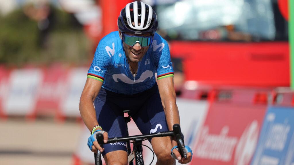 Alejandro Valverde tiene una fractura en la clavícula y será operado