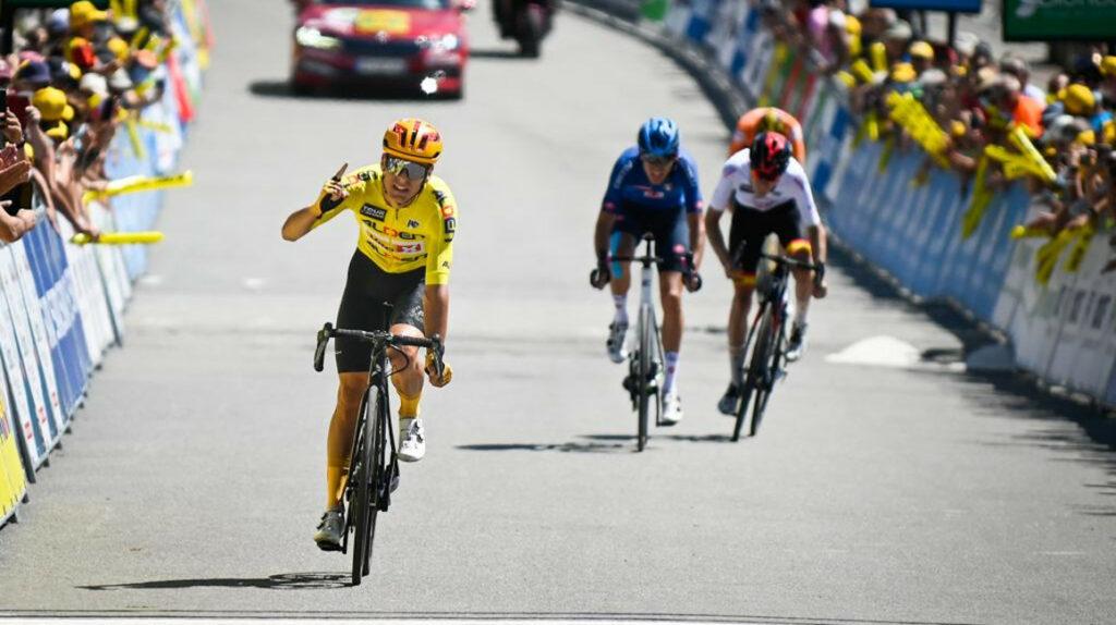 Johannessen gana la Etapa 8 del Tour de l'Avenir y López finaliza décimo