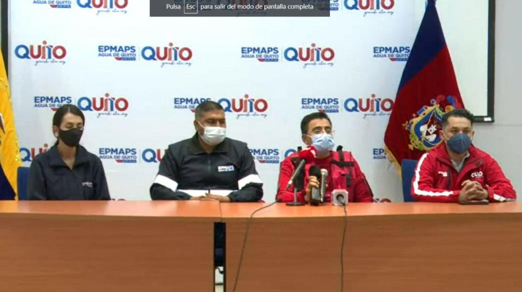Municipio levanta alerta sobre consumo de agua potable en Quito