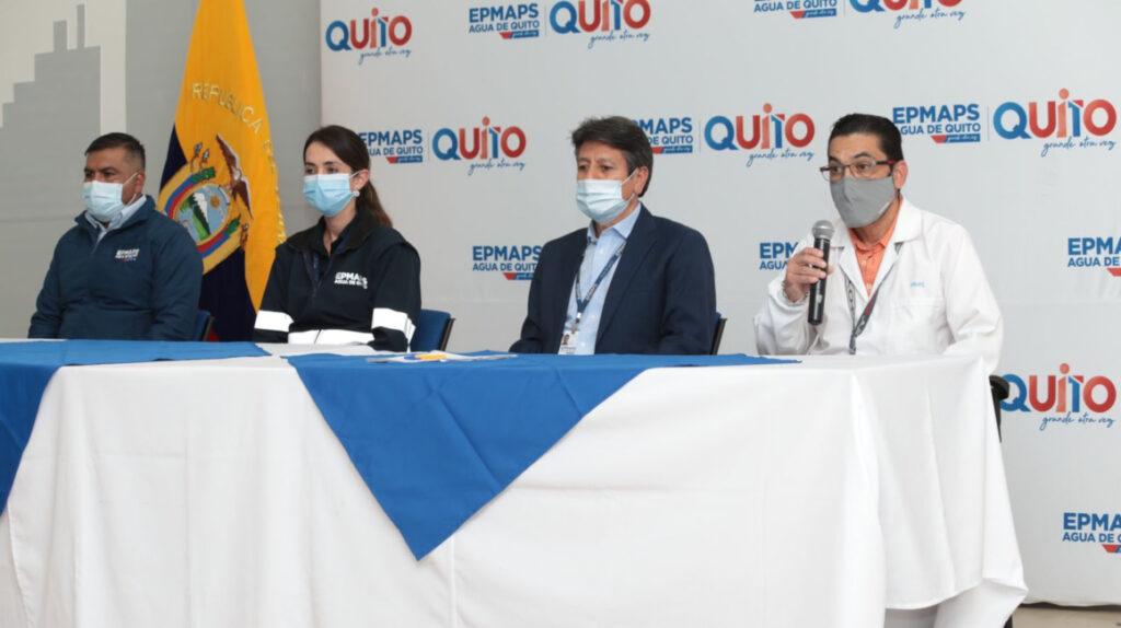 Municipio ratifica que el agua de Quito es apta para consumo humano