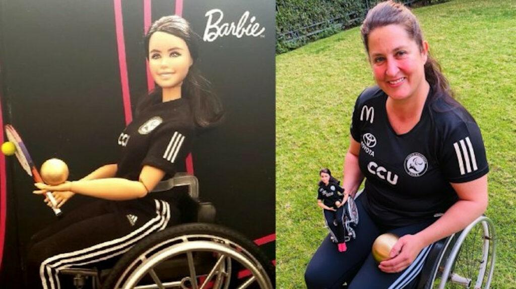 Francisca Mardones, la paratleta chilena que inspira una muñeca Barbie
