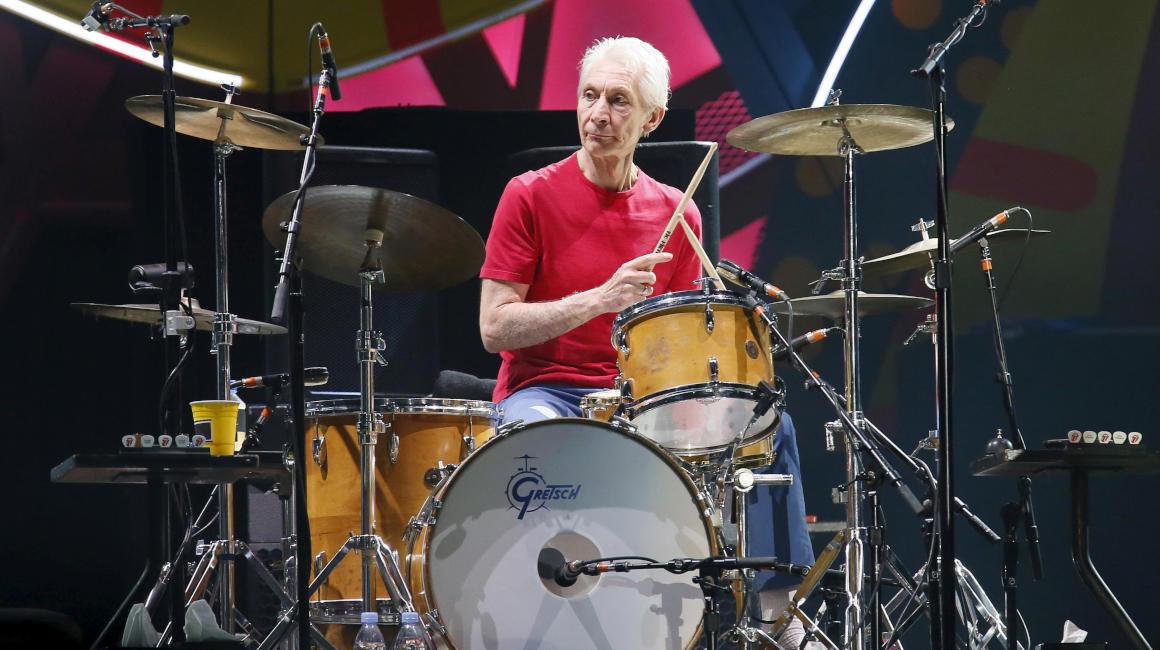 Charlie Watts baterista Rolling Stones,