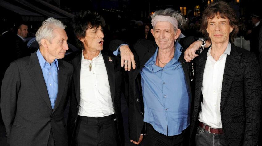 Charlie Watts, Ronnie Wood, Keith Richards y Mick Jagger en una fotografía de archivo del 18 de octubre de 2012.