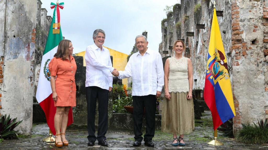 """Lasso confía en que Ecuador entre a la Alianza del Pacífico """"en muy corto plazo"""""""