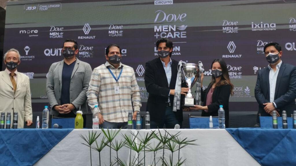 El Challenger de Quito tendrá a ocho tenistas europeos y un asiático