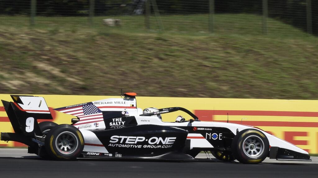 Juan Manuel Correa largará en el puesto 27 del GP de Bélgica de F3