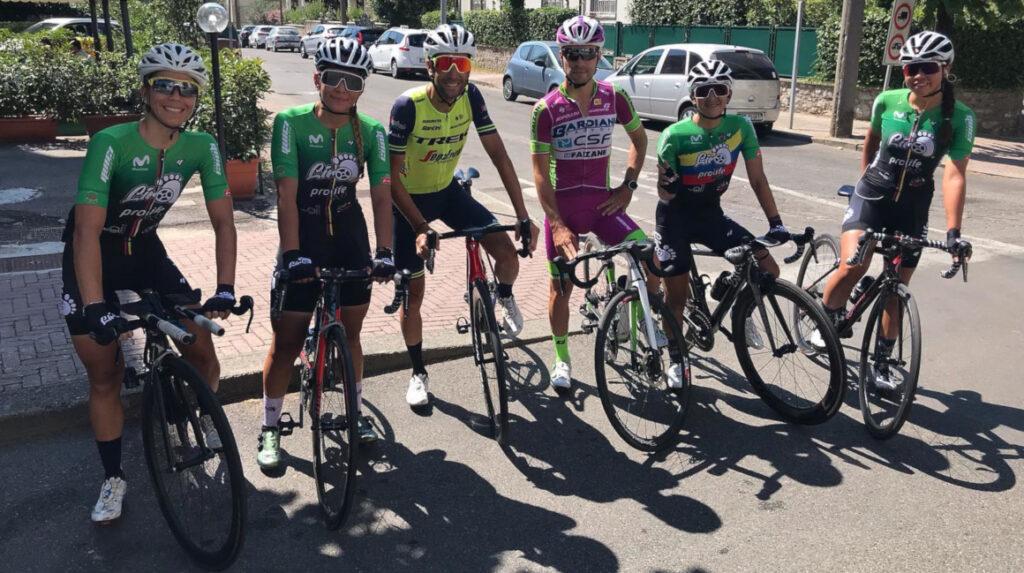 Miryam Núñez llegó en el puesto 53 del prólogo del Giro de la Toscana