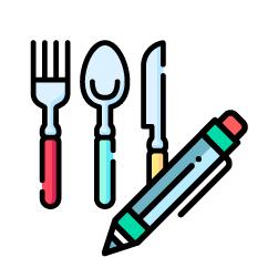 No prestar utensilios, ni lápices