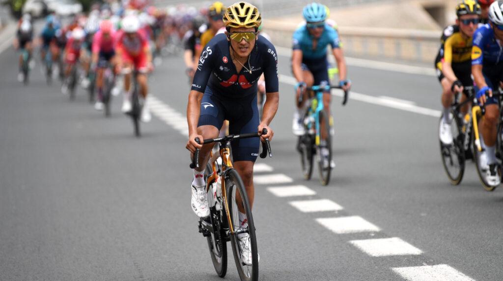 Richard Carapaz recorrió 9.705 kilómetros en 61 días en 2021