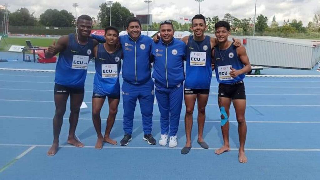 Ecuador obtiene el sexto lugar en relevos en el Mundial de Atletismo para Sordos