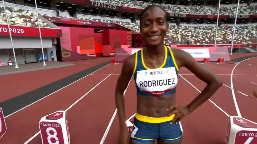 Kiara Rodríguez clasifica a la final de los 100 metros en Tokio