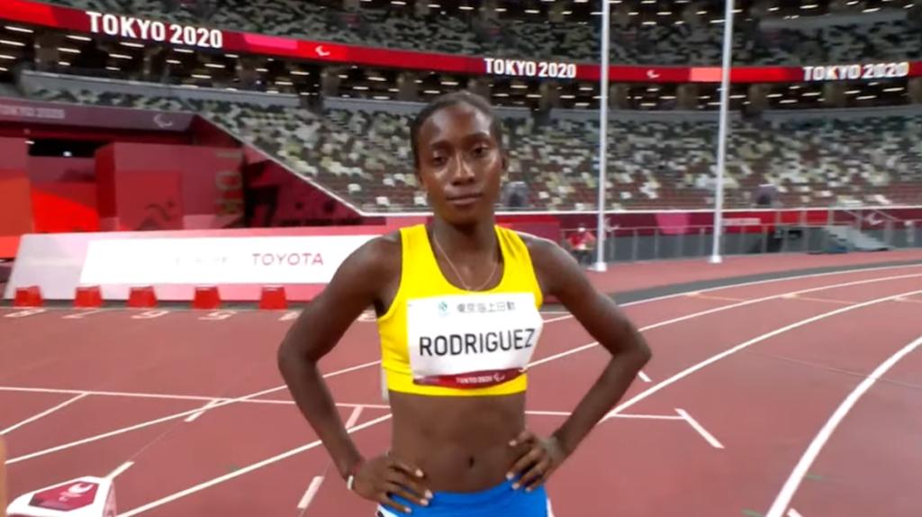 Kiara Rodríguez finaliza sexta y logra diploma en los 100 metros