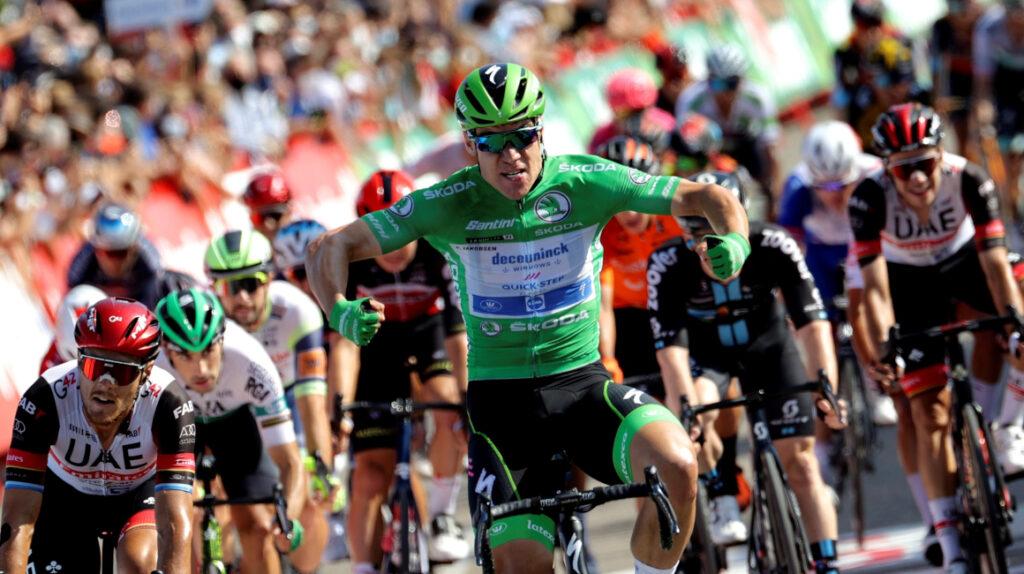 Jakobsen se lleva la Etapa 16 y suma su tercera victoria en la Vuelta 2021