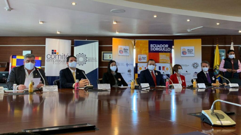 Empresarios lanzan el Día del Orgullo Ecuatoriano para reactivar el consumo