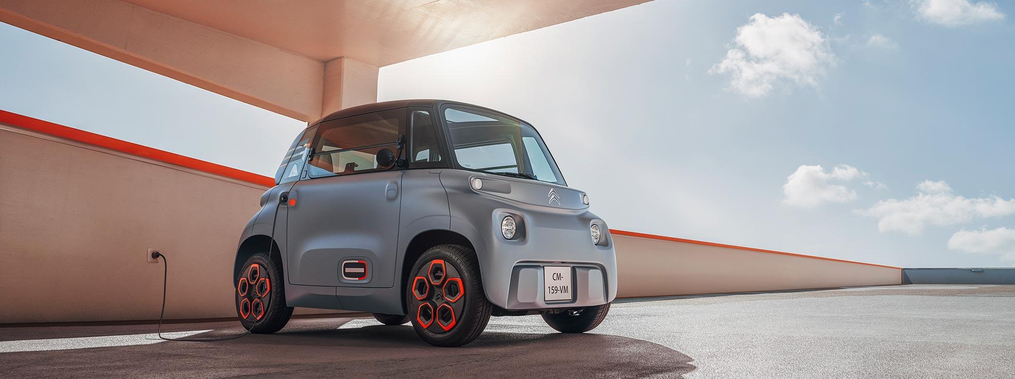 El eficaz freno regenerativo de Citroën AMI