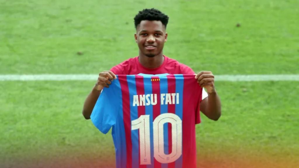 Ansu Fati hereda el dorsal 10 de Lionel Messi en el Barcelona