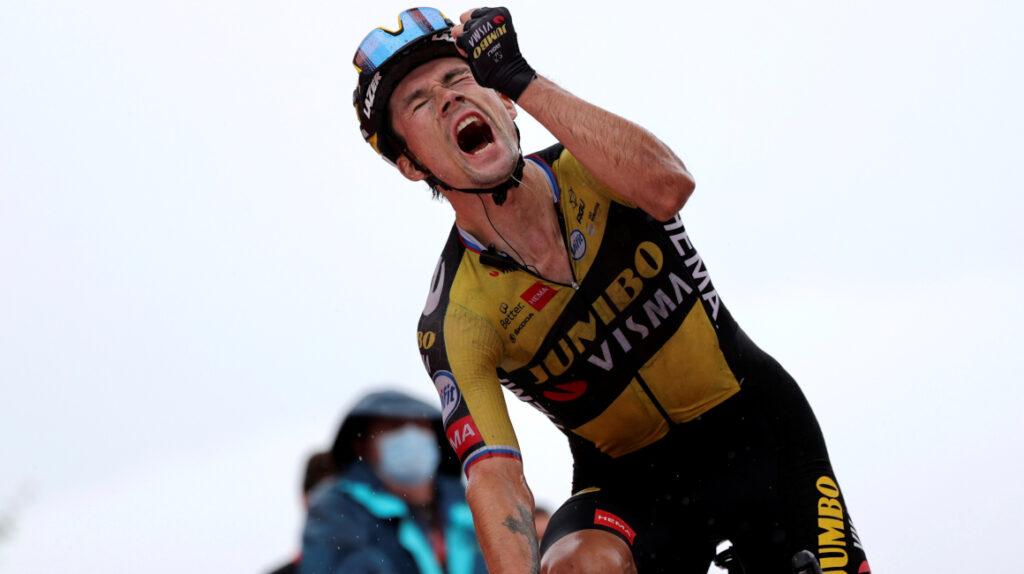 Exhibición de Roglic: gana la Etapa 17 y es el nuevo líder de la Vuelta