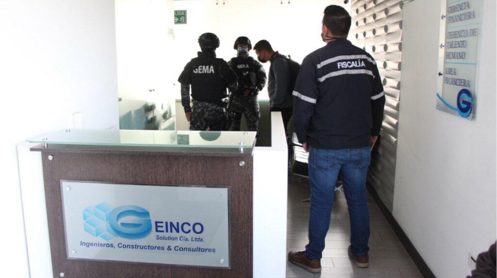 Policía allana empresas municipales y Geinco por chats de hijo de Yunda