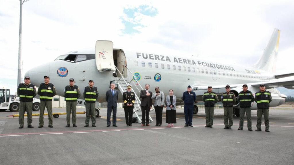 Ecuador envía tres toneladas de ayuda humanitaria Haití
