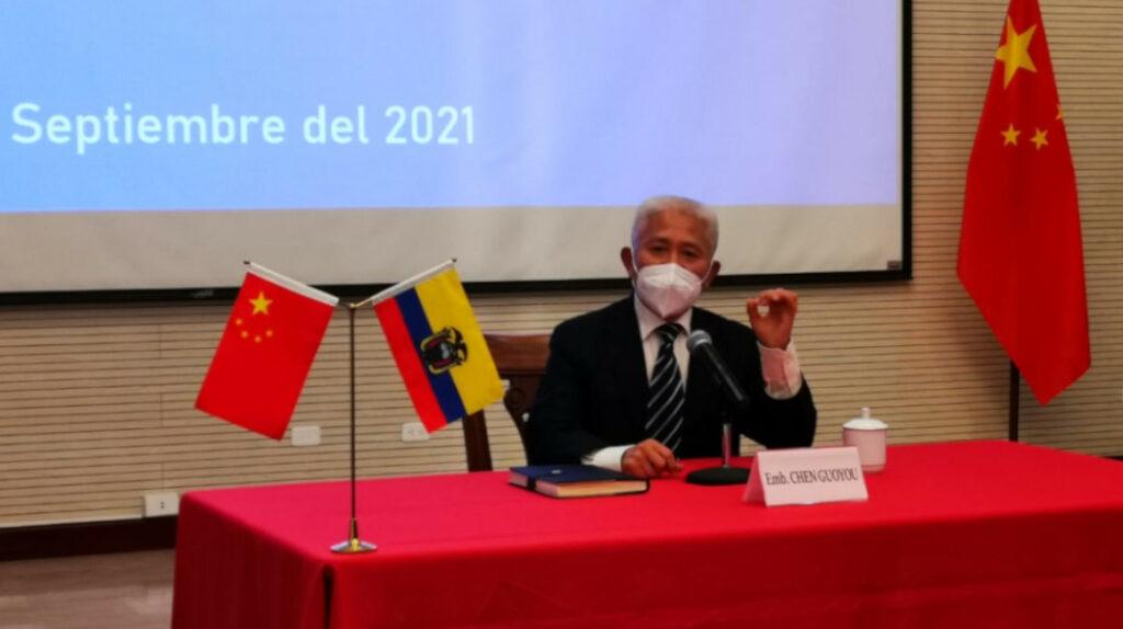 """China quiere fortalecer las relaciones con Ecuador """"más allá de las ideologías"""""""