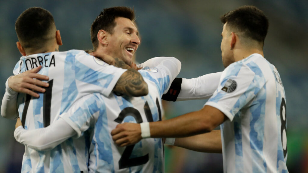 Argentina domina el partido y derrota a Venezuela en Caracas