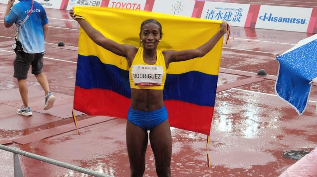 ¡Histórico! Kiara Rodríguez gana medalla de bronce en salto de longitud en Tokio