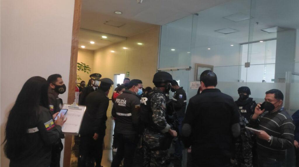 Fiscalía allana despacho de asambleísta Bella Jiménez en la Asamblea