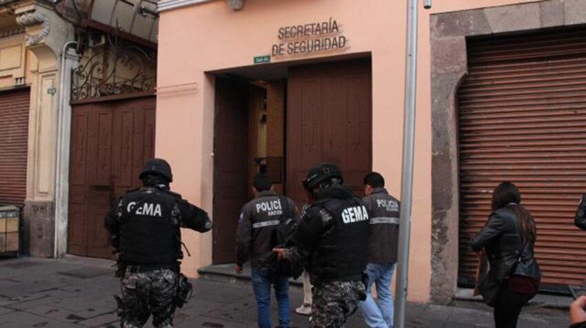 Allanamiento de la Empresa Pública Metropolitana de Logística para la Seguridad de Quito, Emseguridad.