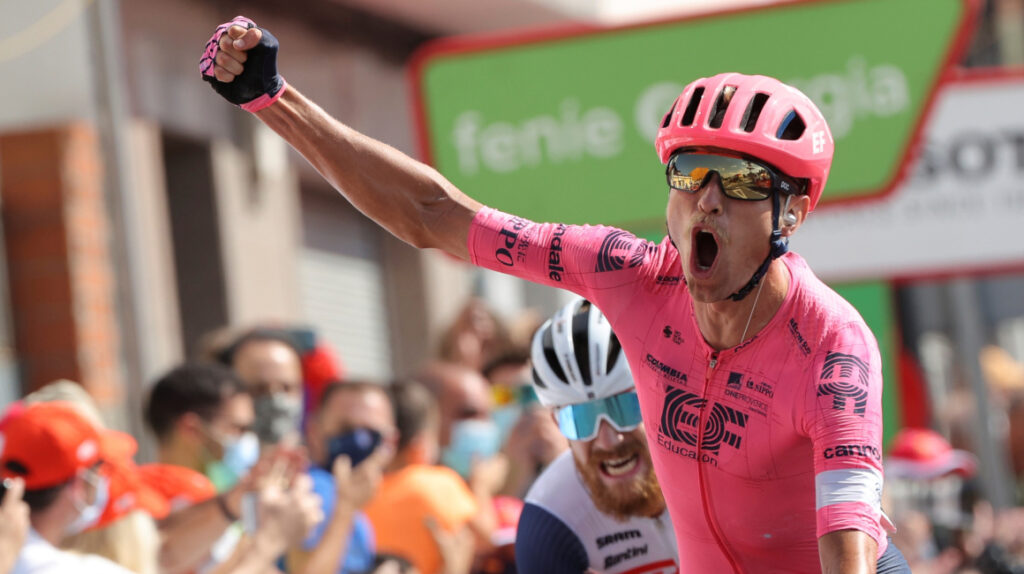 Triplete del danés Magnus Cort Nielsen en la Vuelta a España