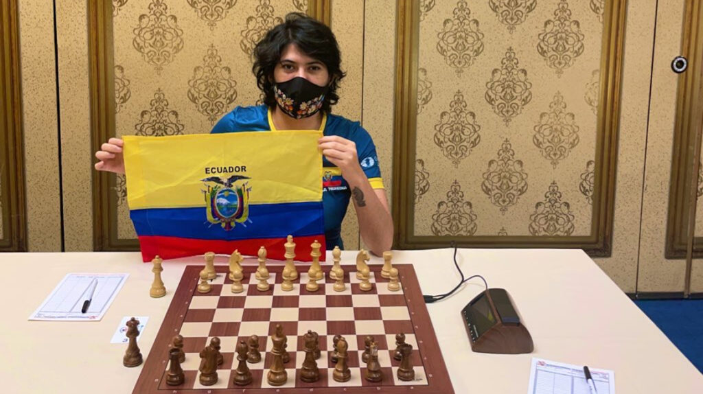 Ecuador clasifica a la División Top de las Olimpiadas online de ajedrez