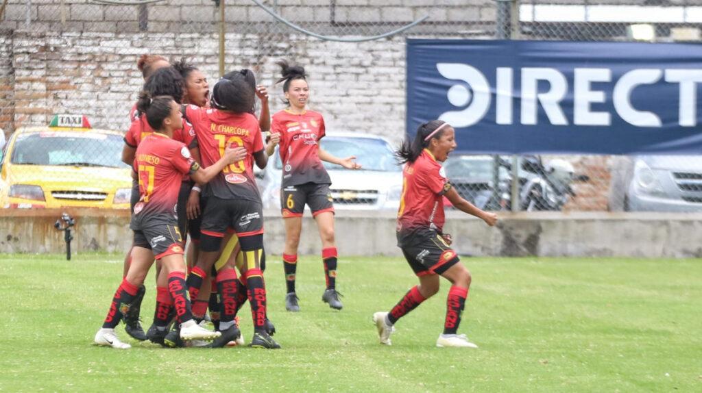 Deportivo Cuenca se lleva la final de ida de la Superliga femenina