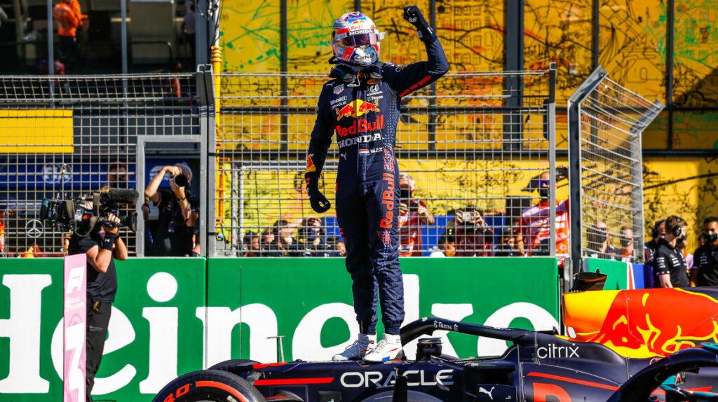 Max Verstappen, nuevo líder tras ganar el Gran Premio de Países Bajos