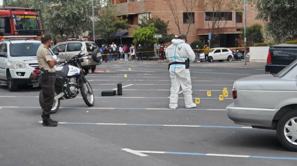 Policía investiga un posible caso de sicariato en hipercentro de Quito
