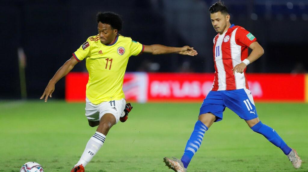 Paraguay y Colombia igualan en Asunción, un resultado que favorece a Ecuador