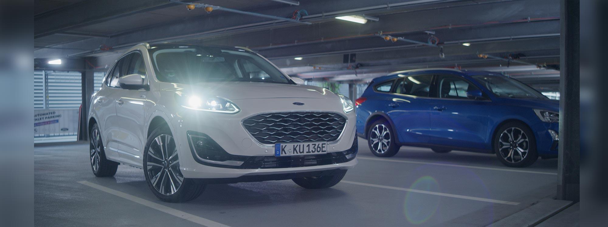 Ford propone un siguiente nivel para estacionar