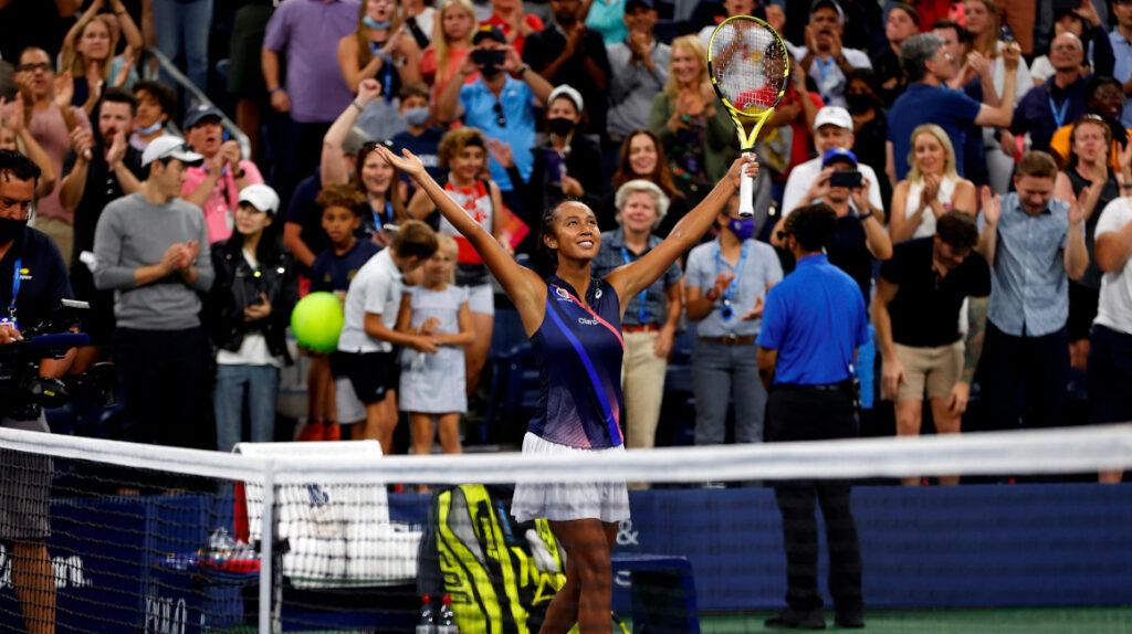 Leylah Fernández, una de las jóvenes sorpresas del US Open