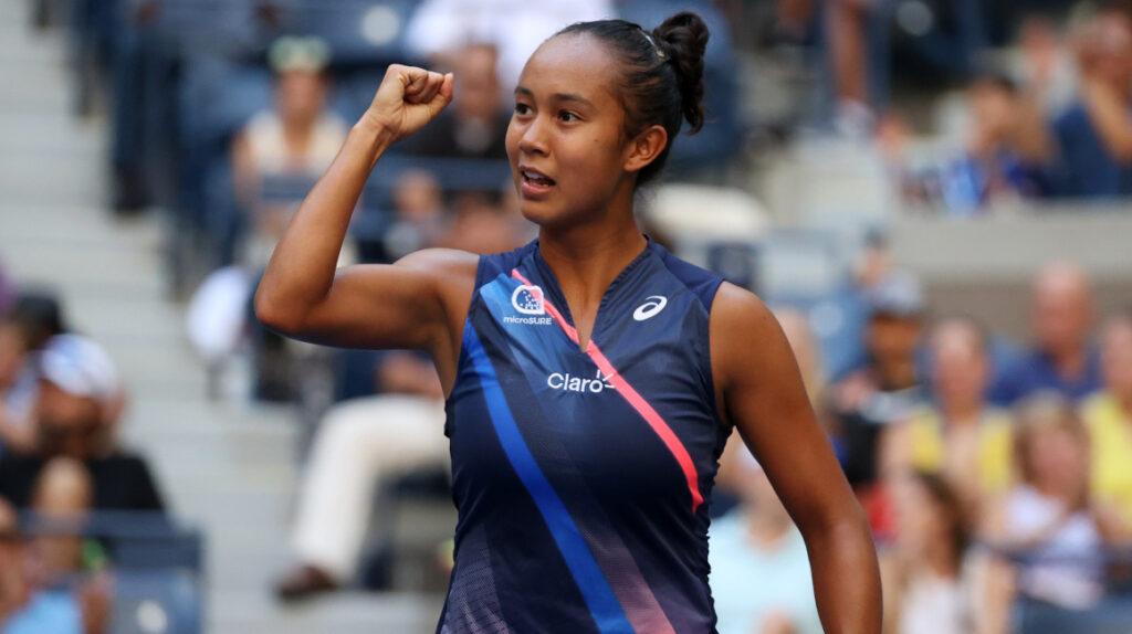 Leylah Fernández derrota a Svitolina y avanza a semifinales del US Open